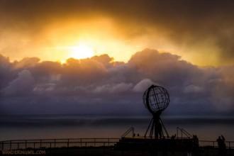 Nuvole a Capo Nord