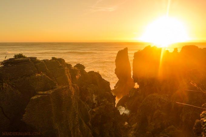 pancake-rocks-sunset-WanderingWil