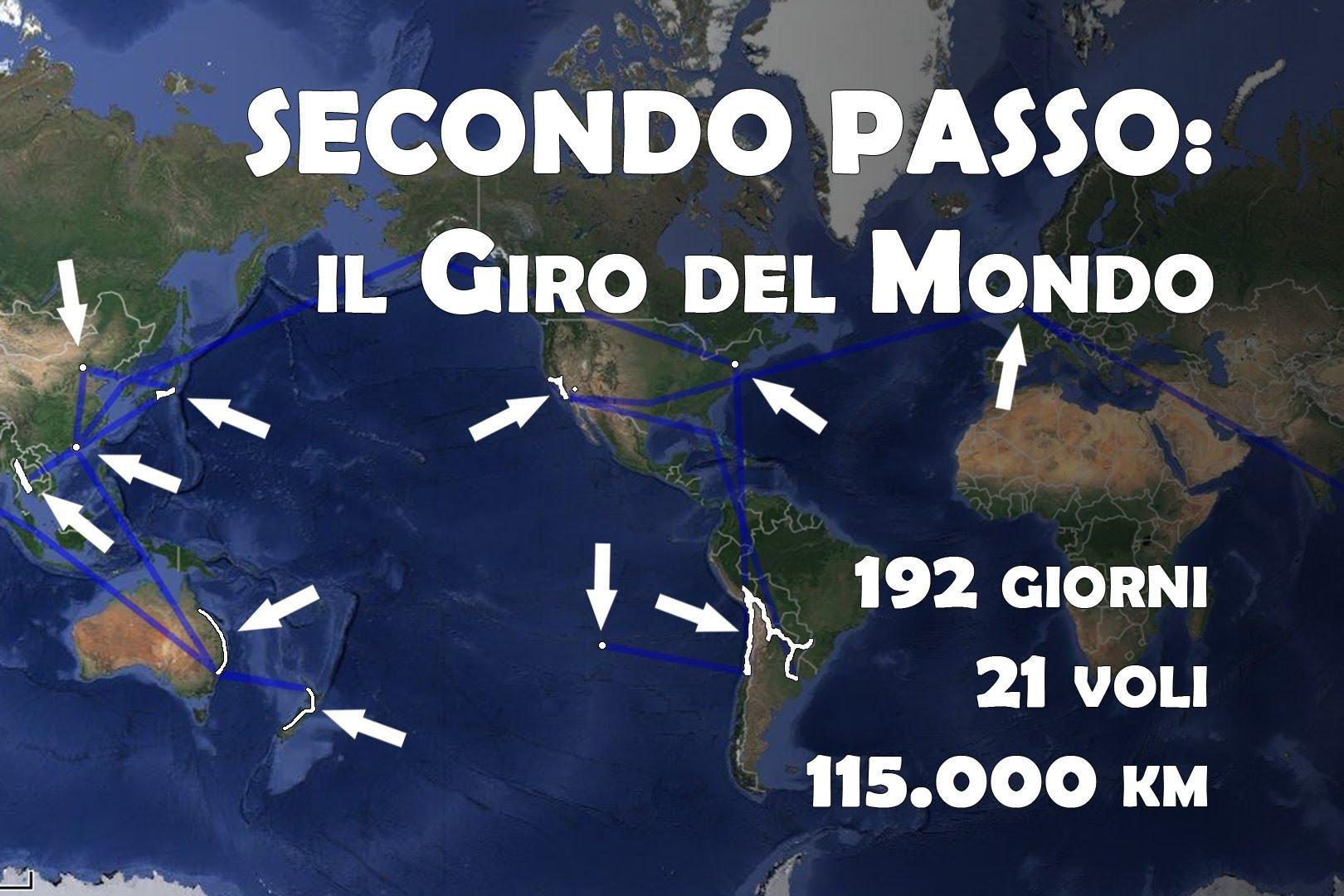 Sette passi attorno al mondo (video)